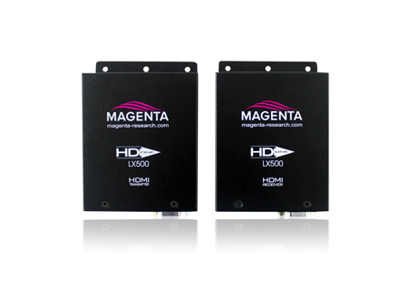 Magenta HD-One LX500 500 foot HDMI IR & RS-232 Extension via Cat6