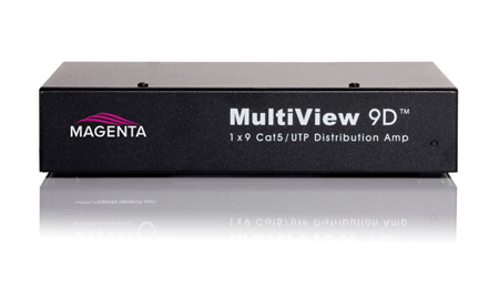 Magenta 9D 1 x 9 Distribution Amplifier for MultiView