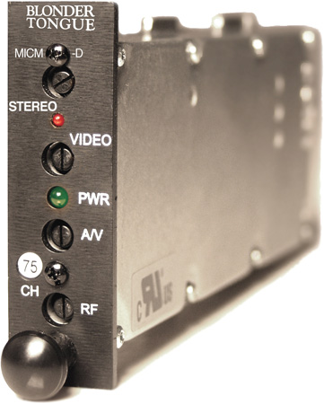 Blonder Tongue MICM-45D HE-12 & HE-4 Series Audio/Video Modulator - Channel 63