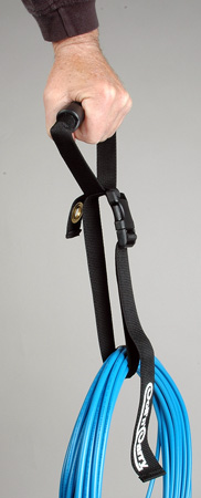 MKK-2 Markerstraps Sturdy-High Quality Cable Organizers with 10 Inch Velcro Wrap With Built In Rigid Carry Handle