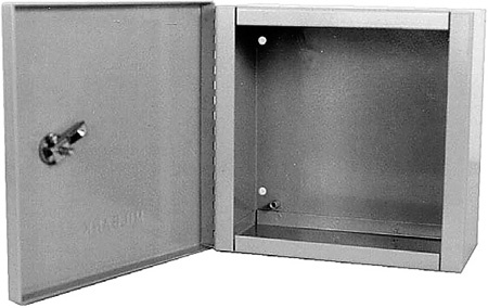 Milbank 10104-LC1 Indoor Surface Mount Hinged Cover Junction / Pull Box 10x10x4