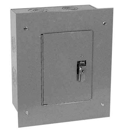 Milbank 1212-TFLC Flush Mount Cover for SC1 Series 12x12 Surface Mount Boxes