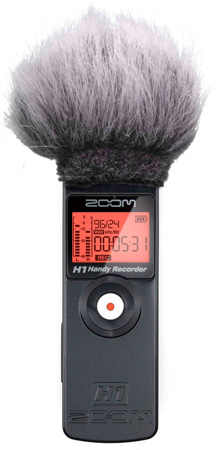 WindTech MM-52 Mic Muff for Zoom H1 Portable Recorders