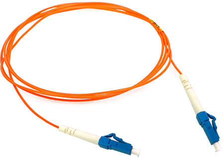5-Meter 62/125 Fiber Optic Patch Cable Multimode Simplex LC to LC - Orange