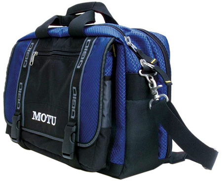 MOTU Computer Bag for the Traveler and a Laptop