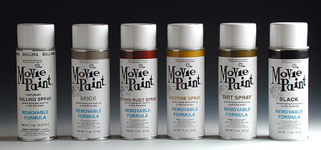 Removable Movie Spray Paint 11oz. - Brown Rust