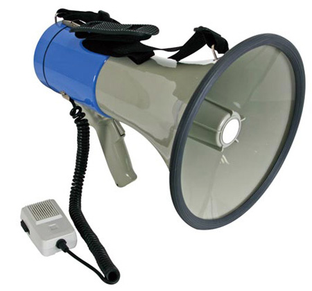 Velleman MP25SFM Power Megaphone 25W