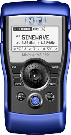 NTI MR-PRO Minirator Audio Signal Generator