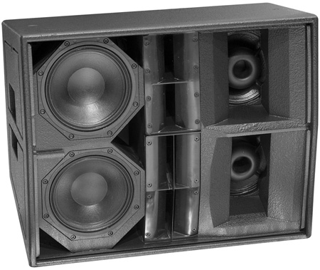 Martin Audio W8VDQ Compact Three-way Differential Directivity System