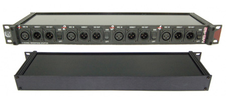 Pro Co Sound MS-42A Four Channel Microphone Splitter