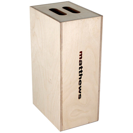 Matthews Normal Duty Half Apple Box - 4inH x 12inW x 20inL