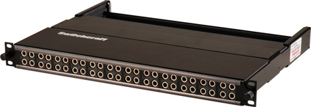 Switchcraft MTPH48K1NS 1RU 2by24 Longframe Patchbay - Normals Strapped