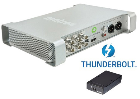 Matrox MXO2LE/N/T MXO2LE with Thunderbolt Adapter