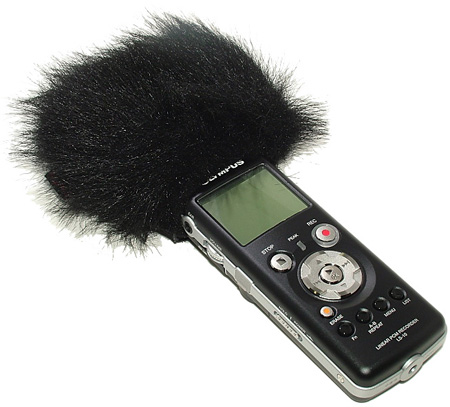 WindTech MM-18 Mic Muff Shotgun Microphone Windshield Fitted Fur Windscreen Cover