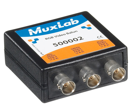 MuxLab 500002 RGB with Video (BNC) Balun