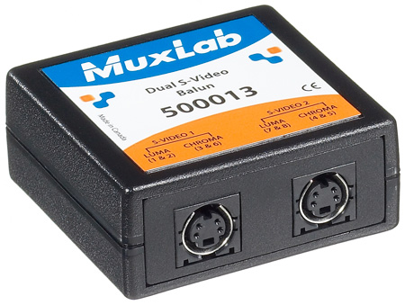 Muxlab 500013 Dual S-Video Balun