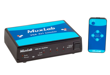 MuxLab 500160 VGA 4x1 Switcher