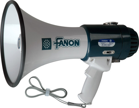 Fanon 16 Watt Megaphone with 600 Yard Range