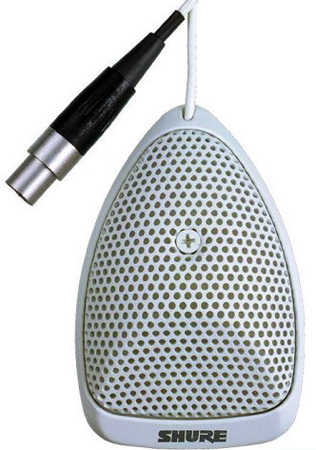 Cardioid Condenser Boundary Mic -White