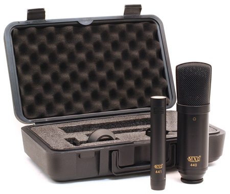 MXL 440/441 Recording Ensemble Mic Pack w/MXL440 Mounts & MXL441 Case