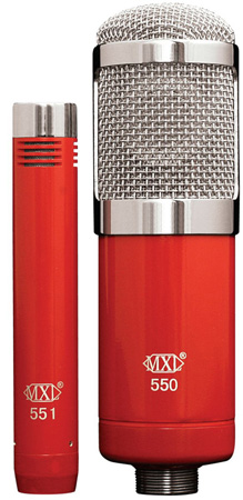 MXL 550/551R Recording Ensemble Studio Microphones