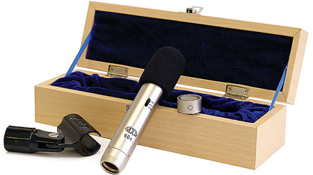 MXL 604 Multi Pattern Condenser Instrument Mic w/Clip Wood Case and Wind Screen