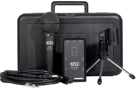 MXL Mic Mate USB Mini Mixer Kit