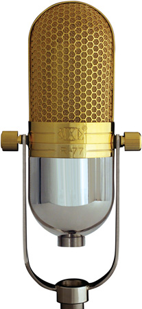 MXL R77 Classic Ribbon Microphone with Swedish Lundahl Transformer