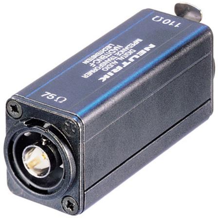 Neutrik NADITBNC-FX XLR Female 110 Ohm to BNC Female 75 Ohm Adapter