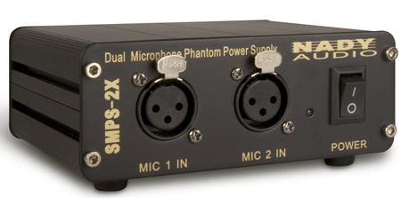 Nady SMPS-2X 2-Channel 48V Phantom Power Supply (for all SCM Series)
