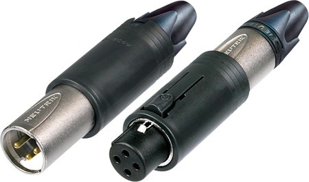 Neutrik NC3FM-C ConvertCon 3 Pole Unisex Female & XLR-M Cable End