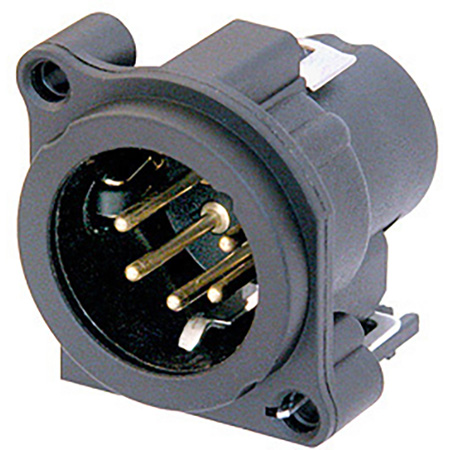 Neutrik NC5MBV-SW 5 pole Male XLR Receptacle