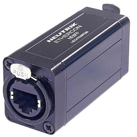 Neutrik NE8FF RJ45 Feedthrough Coupler