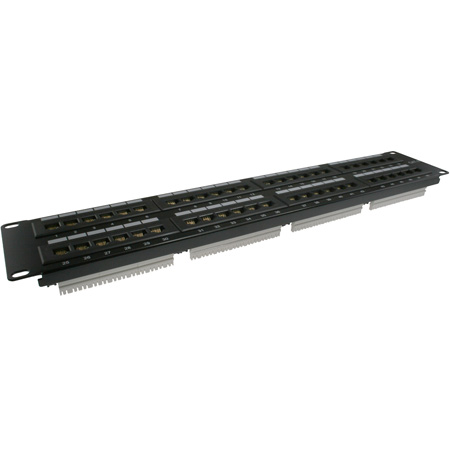48-Port Category 6 Patch Panel 2RU