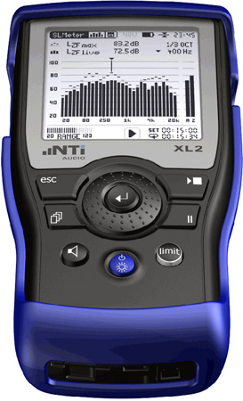 NTI Audio XL2 Audio and Acoustic Analyzer