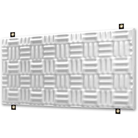 Natural White Sonex One Baffles 24 x 48 x 3 Inch Box of 4