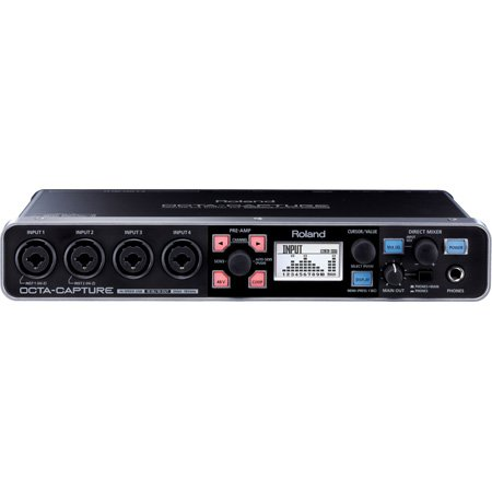 Roland OCTA-CAPTURE Hi-Speed USB Audio Interface