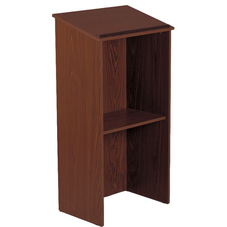 Oklahoma Sound Full Floor Lectern Medium Oak