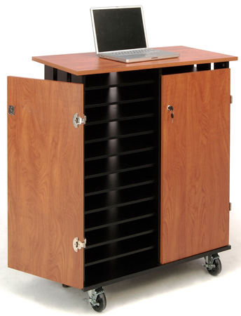 Oklahoma Sound LCSC Laptop Charging & Storage Cart