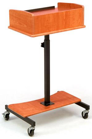 Oklahoma Sound LSS-CH Laptop Speaker Stand - Cherry