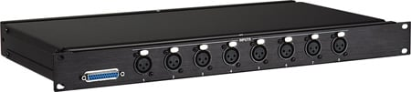 Analog Audio Input Break Out Panel - Tascam Standard