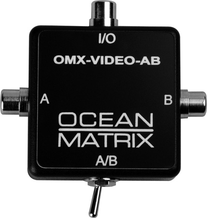 Ocean Matrix Composite Video RCA Input Expander Switch