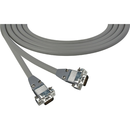 15-Pin HD Male To Male Plenum VGA Cable 100 Foot