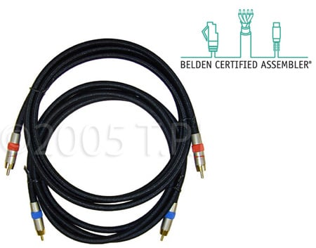 Plenum RCA to RCA Video Cable 10ft.