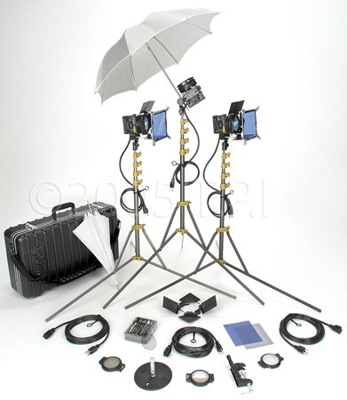 Lowel 3 Light All-Pro Kit with LB-30 Soft Case