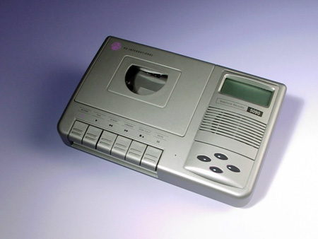 Telephone Recorder With LCD Information Center And Caller ID