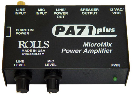 Rolls PA71 Plus Micromix Power Amplifier
