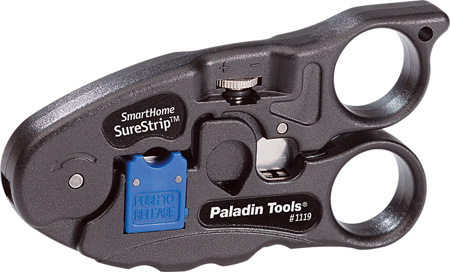 Greenlee PA1119 Smarthome Surestrip Cutter Stripper For Twisted Pair & Coax Cable