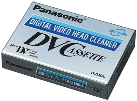 Panasonic AY-DVMCLC Mini DV Cleaning Cassette