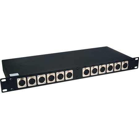 XLR to XLR Patchbay 12M-12F